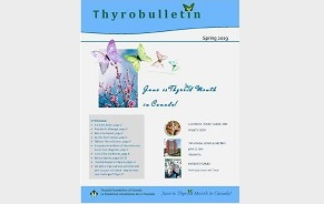 Thyrobulletin printemps 2019 maintenant disponible
